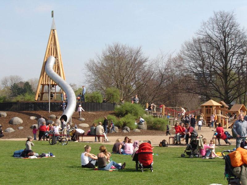 Spielplatz Rheinpark Köln